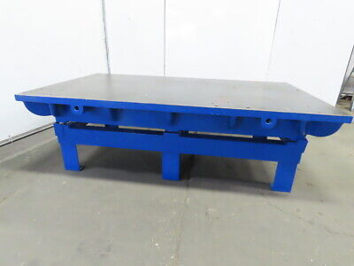 Cast Iron 2-14 Thick Web Top Layout Work Welding Table Bench 96-34x54-12x30