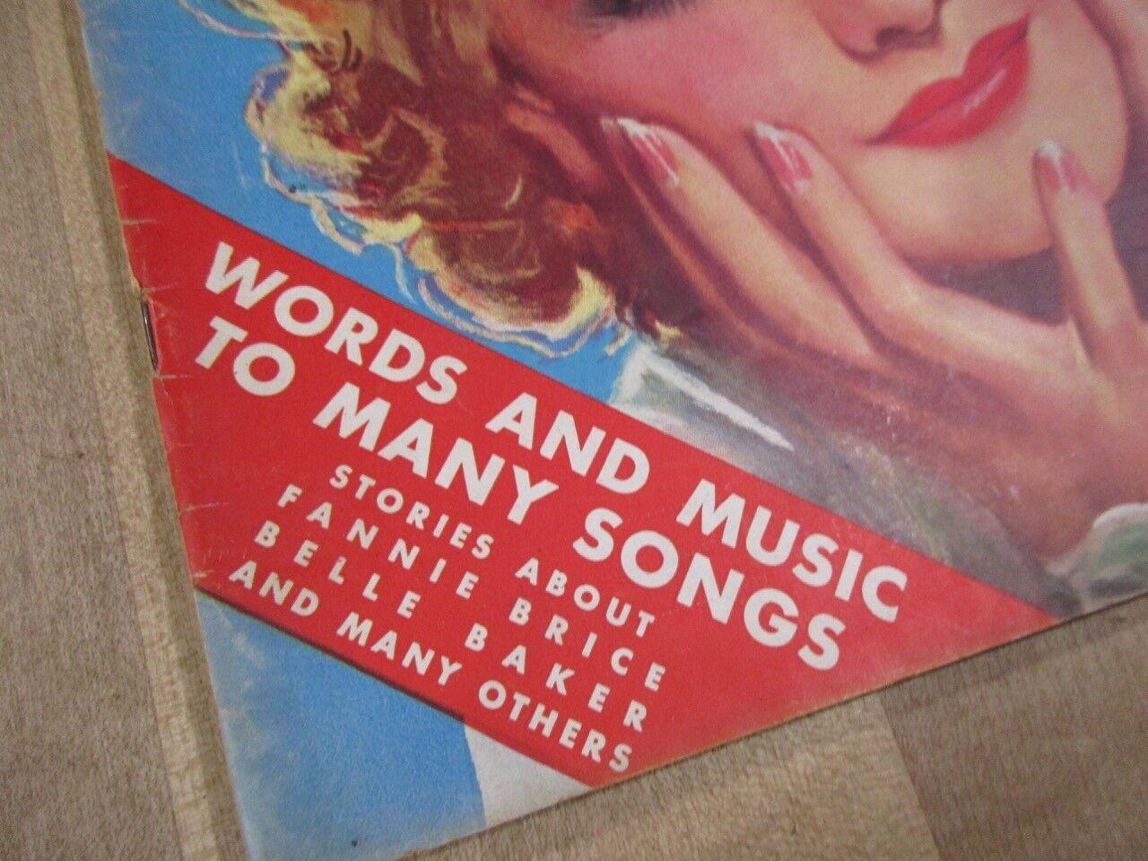Popular Songs September 1936 Patti Pickens Fannie Brice Reisers Britton Band  - $7.99