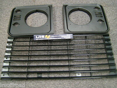 LAND ROVER DEFENDER FRONT GRILLE &  HEADLIGHT SURROUND kit LATER TD5 TYPE