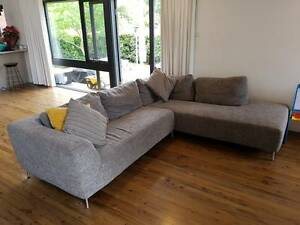 Nick Scali Couch Sofa Killarney Heights Warringah Area Preview