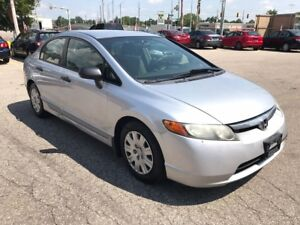2007 Honda Civic NO ACCIDENT/SAFETY/WARRANTY INCLUDED