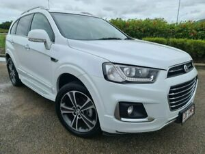 2017 Holden Captiva CG MY17 LTZ AWD White 6 Speed Sports Automatic Wagon Garbutt Townsville City Preview