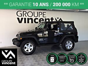 2011 Jeep Wrangler SPORT TRAIL RATED 4X4**GARANTIE 10 ANS**