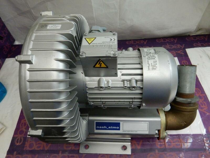 Nash Elmo Rietschle 2BH1500-7AH06 Side Vacuum Pump & Compressor Blower Motor