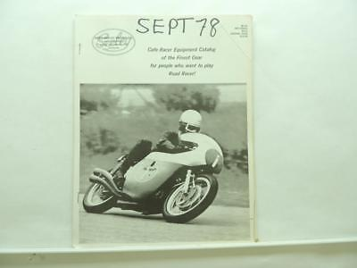 NOS Vintage Dunstall Special Equipment Catalog Cafe Racer Norton Triumph W155