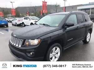 2017 Jeep Compass North 4X4..New Tires..Auto..Air..Heated Sea...