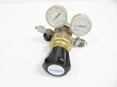 Vwr Scientific 55850-426 Argon Nitrogen Helium Multistage Gas Regulator