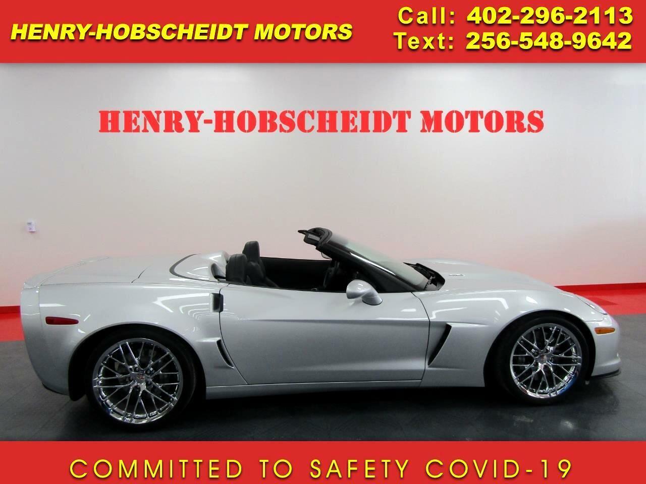 2013 Silver Chevrolet Corvette Convertible  | C6 Corvette Photo 1