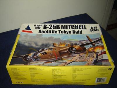 Accurate miniatures 3430 B-25B Mitchell Doolittle Tokyo Raid 1/48 Scale 2005 Kit