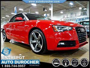 2014 Audi A5 TECKNIK - AUTOMATIQUE - AIR CLIMATISÉ - GPS