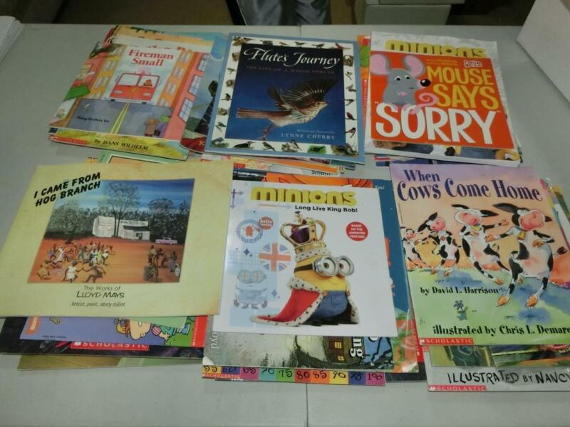 Huge Lot 61 K 1st  2nd 3rd  Grade AR Picture Books TEACHER LIBRARY