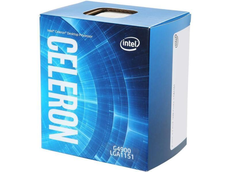 Intel Celeron G4900 Coffee Lake Dual-core 3.1 Ghz Lga 1151 (300 Series) 54w Bx80
