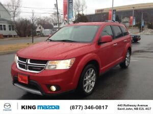 2015 Dodge Journey R/T- $191 B/W 7 PASS...AWD...LEATHER..NEW TIR