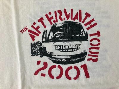 Vintage Osiris Aftermath Tour 2001 Skateboard T-shirt Size Large Never Worn