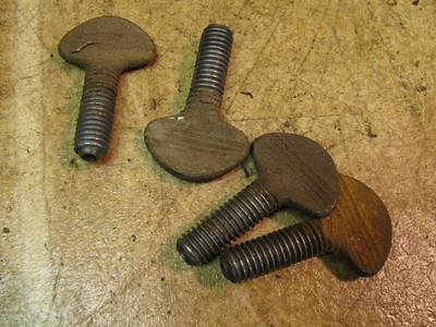 Ridgid 400 Pipe Threader Leg Set Bolts 12 Wing Thumb Screws Threading Machine