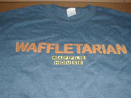Waffle House 3X  XXXL T-shirt NEW breakfast coffee restaurant logo original