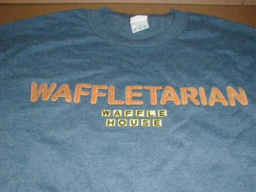 Waffle House XL T-shirt NEW breakfast coffee restaurant logo original short/slev