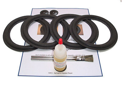 "4 Infinity 6.5"" RS4 Speaker Foam Surround Repair Kit - RS5, 16PR85 - 4A65"