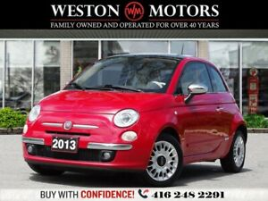 2013 Fiat 500 L*LEATHER*SUNROOF*5SPEED*RED INT*SPORT*CERTIFIED!*