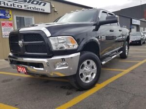 2016 Dodge Ram 2500 Outdoorsman-6.7L DIESEL-CREW-4X4-REAR CAMERA
