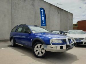 2005 Holden Adventra VZ SX6 Blue 5 Speed Automatic Wagon