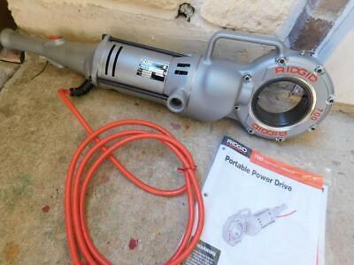 Ridgid 700 Pipe Threader Threading Machine New Open Box Power Pony