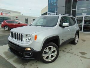 2015 Jeep Renegade 18 000KM LIMITED TOIT RETRACTABLE 4X4 CUIR