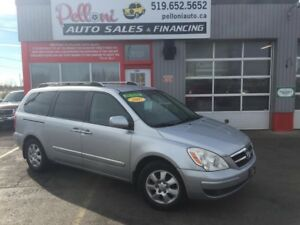 2007 Hyundai Entourage GLS LEATHER|DVD|PWR SLIDING DOORS+LIFTGAT