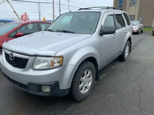 2010 Mazda Tribute V6 4X4 AC VITRES CUIR TOIT OUVRANT MAGS