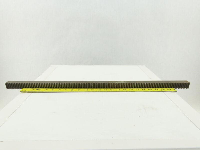 """Boston Gear L2012 20PA 12DP Steel Gear Rack 29-1/4"""" OAL"""