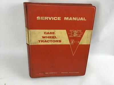Case Wheel Tractors Service Manual 730-830-930 Comfort King Drafto-matic Tractor
