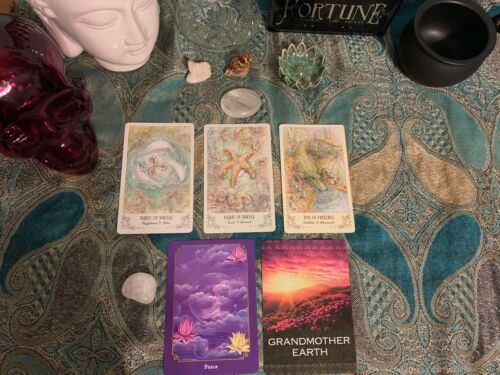 Oracle/Tarot Card Reading 5 Card Pull Native American Psychic - $15.00