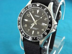 CLASSIC-TIMEX-MENS-SUBMARINER-DIVERS-STYLE-CALENDAR-WATCH-W-G-1O-STRAP