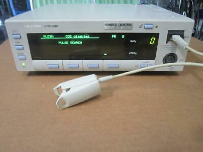 Nellcor Ultracap N-6000b Capnograph Pulse Oximeter Co2 N-6000
