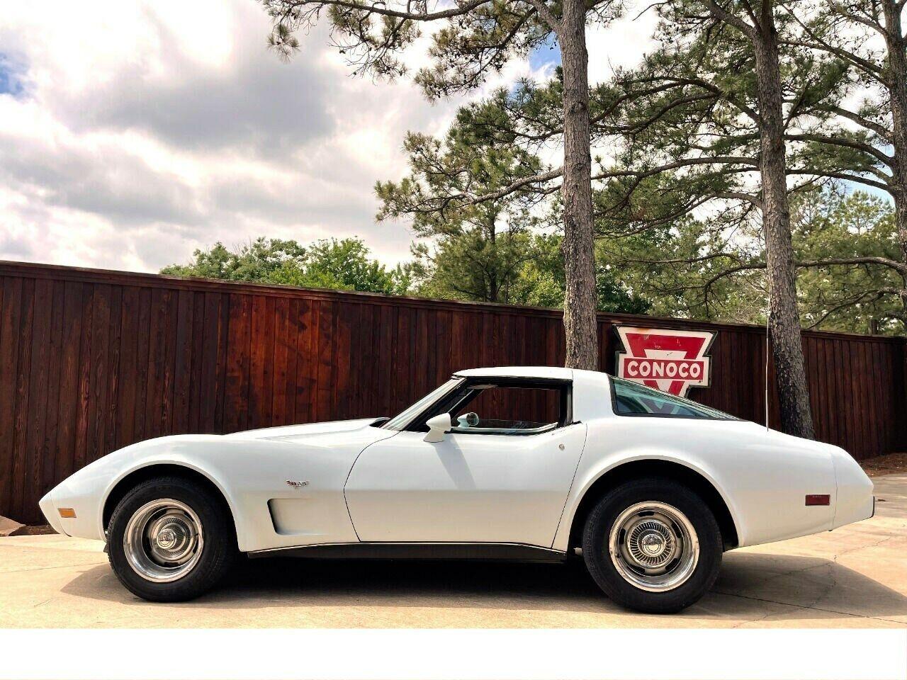 1979 White Chevrolet Corvette     C3 Corvette Photo 1