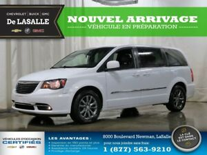 2015 Chrysler Town & Country S//CUIR/7 PLACES/GPS/LECTEUR DVD/SI