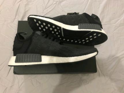 Adidas nmd r1 core black 'carbon' us 10.5 men's