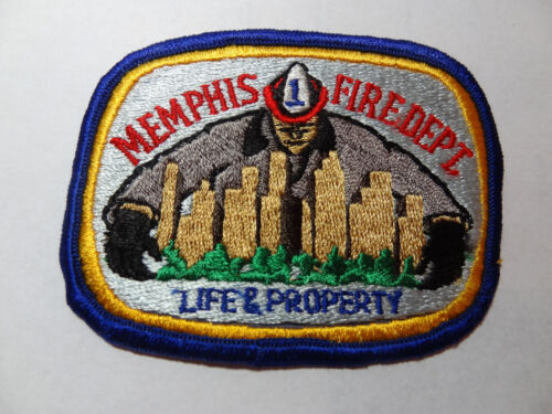 MEMPHIS TENNESSEE  FIRE  DEPARTMENT  SHOULDER PATCH