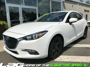 2017 Mazda Mazda3 Sport GX Blacked Out Wheels and Spoiler!