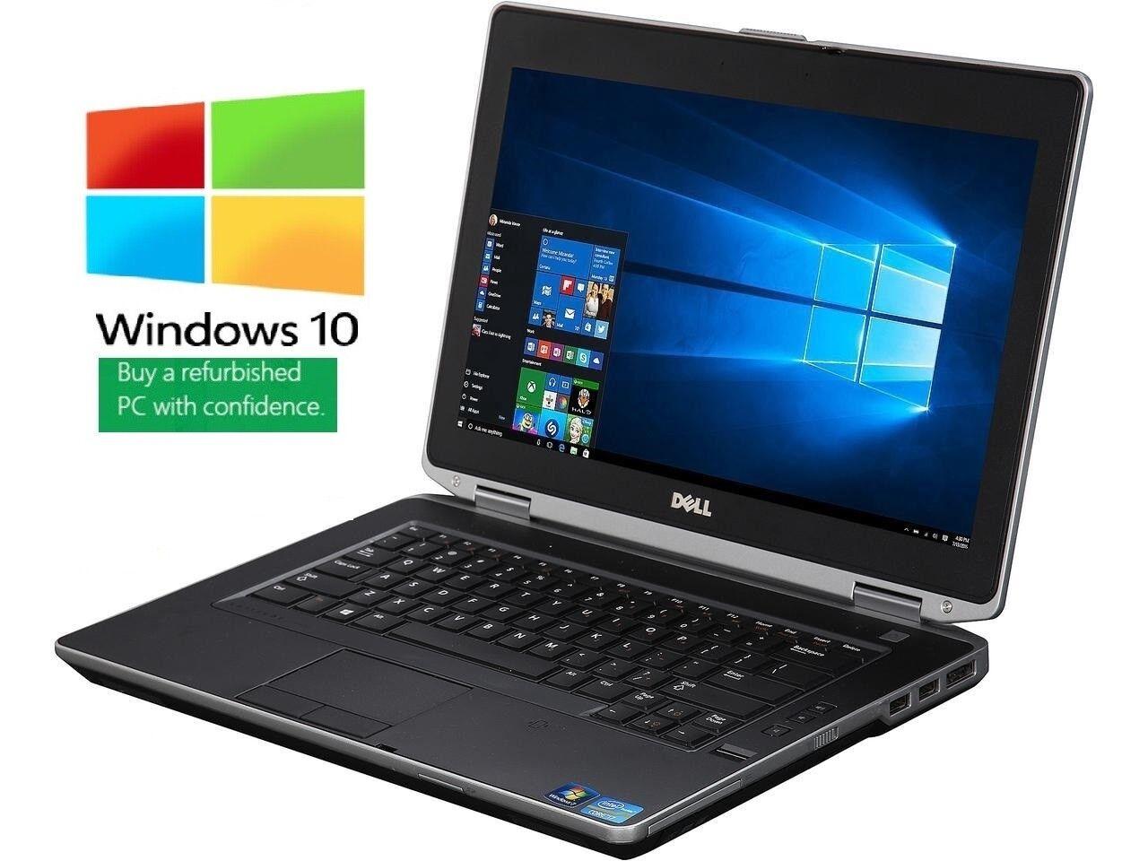"""Core i7 Quad HDMI Win 7//10 Pro 14.1/"""" Laptop 6//8//16Gb Dell E6420 HDD or SSD"""