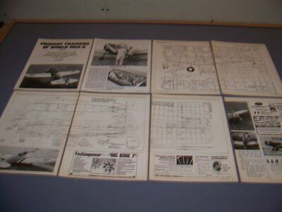 VINTAGE..FAIRCHILD PT-19.. FREE FLIGHT R-C MODEL PLANS..RARE! (48P) for sale  Shipping to Canada