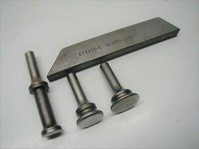 3 Rivet Gun Riveter Sets .401 Shank Aircraft Tools Bucking Bar