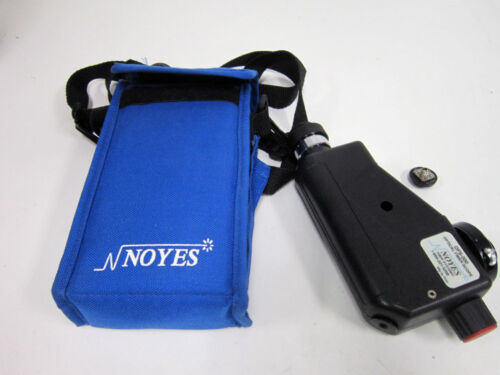 NOYES FIBER SYSTEMS OFS-300 OPTICAL FIBER SCOPE WITH BAG SC & FC ADAPTERS