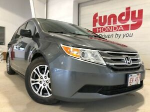 2013 Honda Odyssey EX w/power side door and driver seat, $184.12