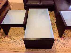 Leather Lounge and matching furniture Carlton Kogarah Area Preview