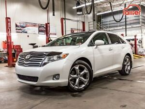 2010 Toyota Venza LIMITED AWD *CUIR+TOIT+GPS *AUCUN ACCIDENT!* L