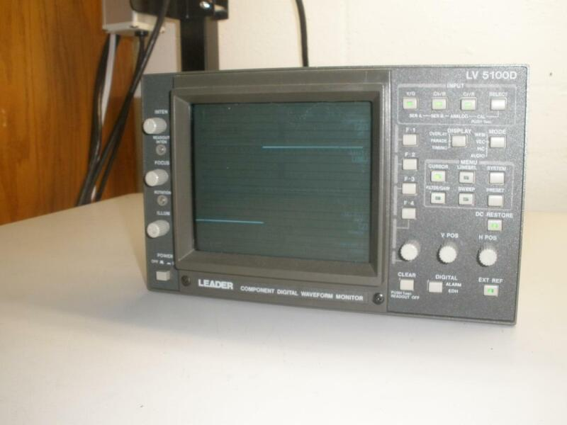 Leader LV 5100D Component Digital Waveform Monitor