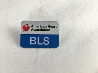 New American Heart Association Bls Pin Basic Life Support