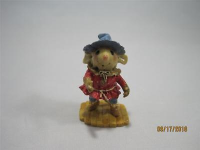 Wee Forest Folk Wizard of Oz Scarecrow Limited Edition from 2007 - WFF Box (Scarecrow From Wizard Of Oz)