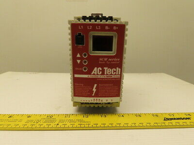 Ac Tech Sm405 Variable Speed Ac Motor Drive .5hp .37kw
